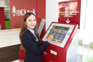 FINCA Kyrgyzstan ATM