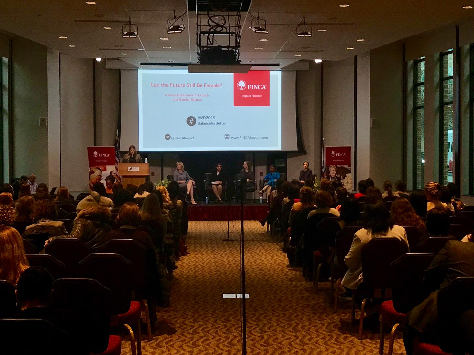 Each year FINCA Impact Finance's International Women's Day panel brings together experts in the field.