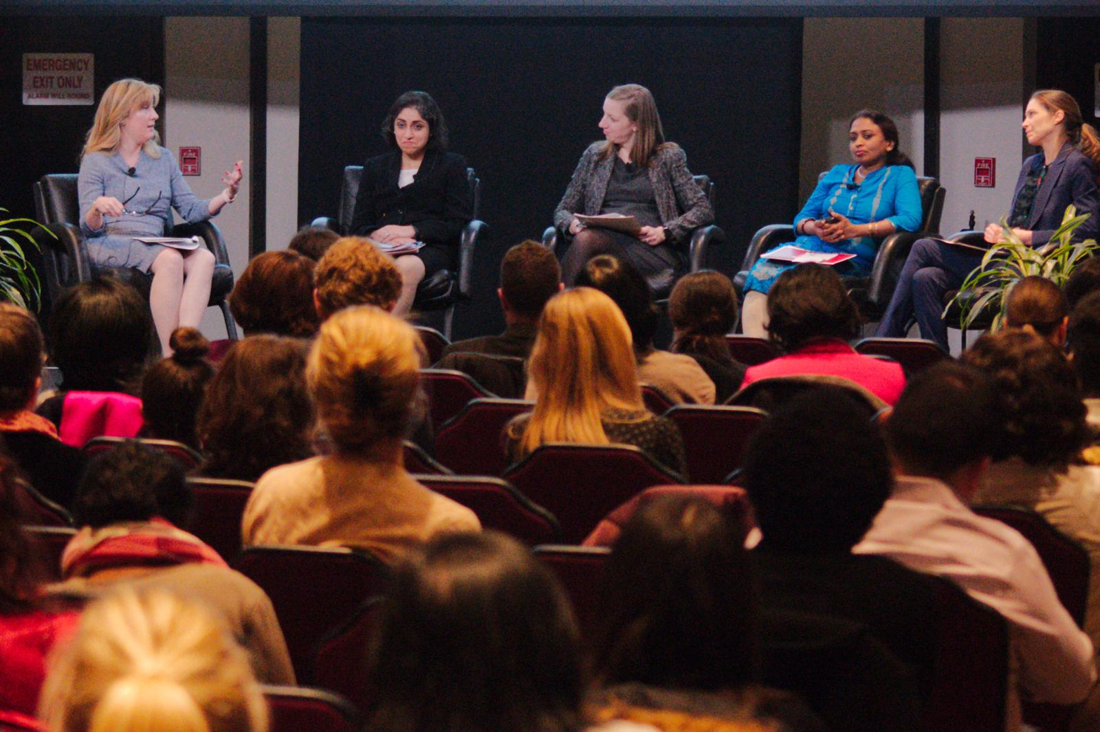 Women leaders in fintech and financial inclusion spoke at FINCA Impact Finance's International Women's Day event.