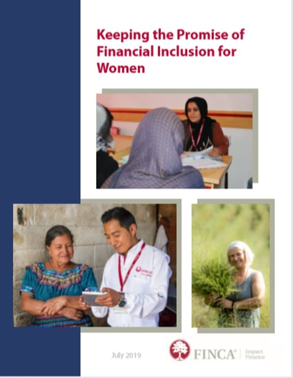 FIF is committed to financial inclusion of women