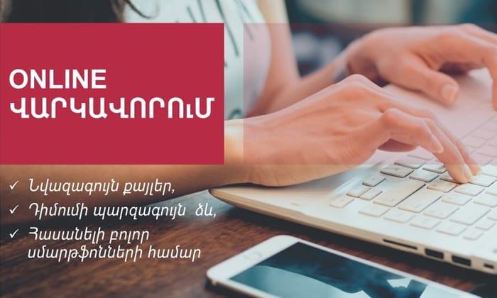 Online Loan application interface